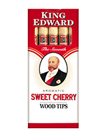 King Edward Wood Tip Cigars Cherry