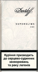 Davidoff Super Slims One (White) 100`s