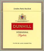 Filter tip cigarettes Dunhill USA