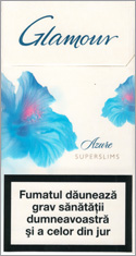 Glamour Super Slims Azure 100's