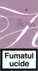 Hilton Super Slims Liliac 100's