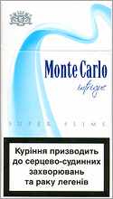 Monte Carlo Super Slims Intrigue 100`s