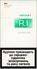 R1 Super Slims Fresh 100`s