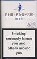 Philip Morris Blue Cigarettes pack