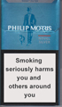 Philip Morris Novel Silver Cigarettes pack