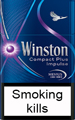 Winston Compact Impulse Cigarettes pack