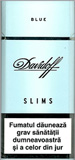 Davidoff Slims Blue Cigarettes pack