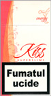 Kiss Super Slims Energy 100's Cigarettes pack