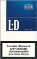 LD Blue Cigarettes pack