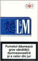 L&M Lights (Blue) Cigarettes pack