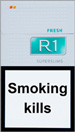 R1 Super Slims Fresh 100`s Cigarettes pack