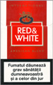 Red&White American Blend Cigarettes pack