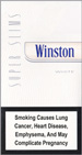Winston Super Slims White 100s Cigarettes pack