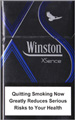 Winston XSence Blue (mini) Cigarettes pack