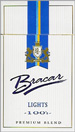 BRACAR LIGHT 100  BOX Cigarettes pack