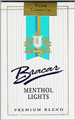 BRACAR MENTHOL LIGHT KING SOFT Cigarettes pack