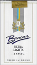 BRACAR ULTRA LIGHT 100 SOFT Cigarettes pack