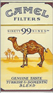 CAMEL 99 FILTER BOX 100 Cigarettes pack