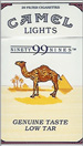 CAMEL 99  LIGHT  BOX 100 Cigarettes pack