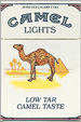 CAMEL LIGHT BOX KING Cigarettes pack