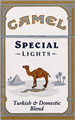 CAMEL SPECIAL LIGHT BOX KING Cigarettes pack