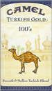 CAMEL TURKISH GOLD BOX 100 Cigarettes pack