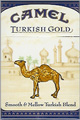 CAMEL TURKISH GOLD BOX KING Cigarettes pack