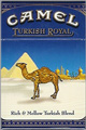 CAMEL TURKISH ROYAL BOX KING Cigarettes pack