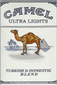 CAMEL ULTRA LIGHT BOX KING Cigarettes pack