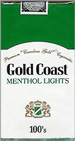 GOLD COAST LIGHT MENTHOL SP 100 Cigarettes pack
