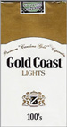 GOLD COAST LIGHT SP 100 Cigarettes pack