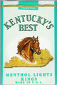 KY'S BEST LT MENTHOL SOFT KING Cigarettes pack