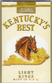 KY'S BEST LT SOFT KING Cigarettes pack