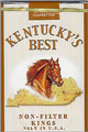 KY'S BEST NON FILTER SOFT KING Cigarettes pack