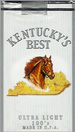 KY'S BEST ULTRA LIGHT SOFT 100 Cigarettes pack
