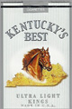 KY'S BEST ULTRA LIGHT SOFT KG Cigarettes pack