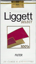 LIGGETT SELECT FF SOFT 100 Cigarettes pack