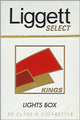 LIGGETT SELECT LIGHT BOX KING Cigarettes pack