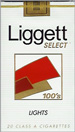 LIGGETT SELECT LIGHT SOFT 100 Cigarettes pack