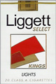 LIGGETT SELECT LIGHT SOFT KING Cigarettes pack