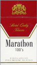 MARATHON FULL FLAVOR BOX 100 Cigarettes pack