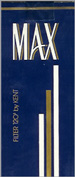 MAX FILTER 120 Cigarettes pack