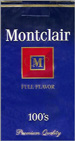 MONTCLAIR FF 100 Cigarettes pack