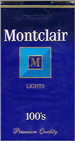 MONTCLAIR LIGHT 100 Cigarettes pack