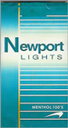 NEWPORT LIGHT 100 Cigarettes pack