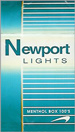 NEWPORT LIGHT BOX 100 Cigarettes pack