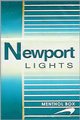 NEWPORT LIGHT BOX KING Cigarettes pack