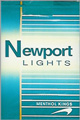 NEWPORT LIGHT KING Cigarettes pack