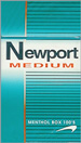 NEWPORT MEDIUM BOX 100 Cigarettes pack