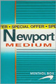 NEWPORT MEDIUM BOX 80 KING Cigarettes pack
